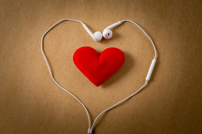 Earphones&heart